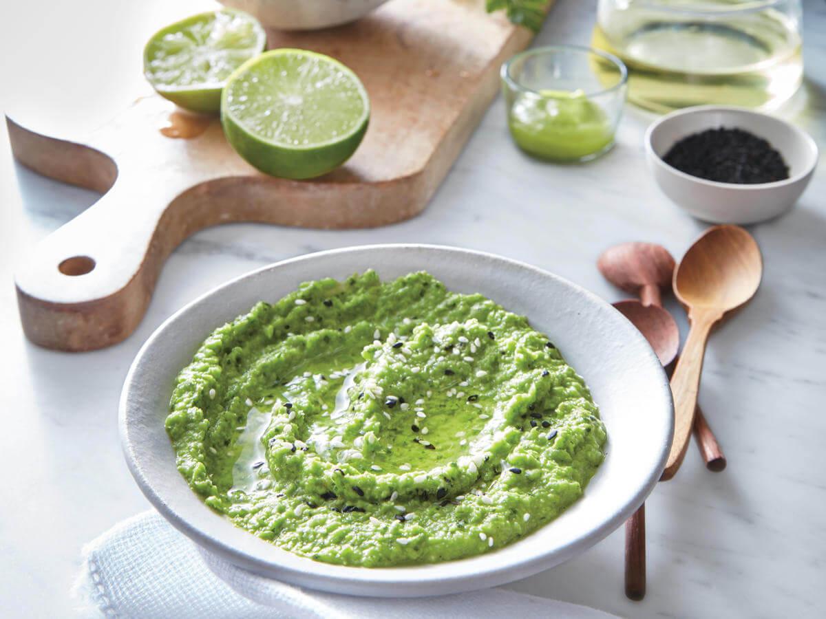 Pea and Wasabi Dip