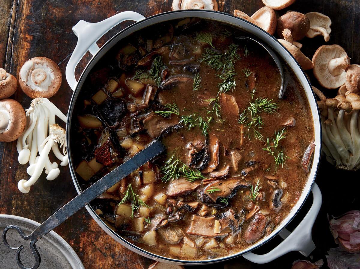 Ruthenian Mushroom Soup