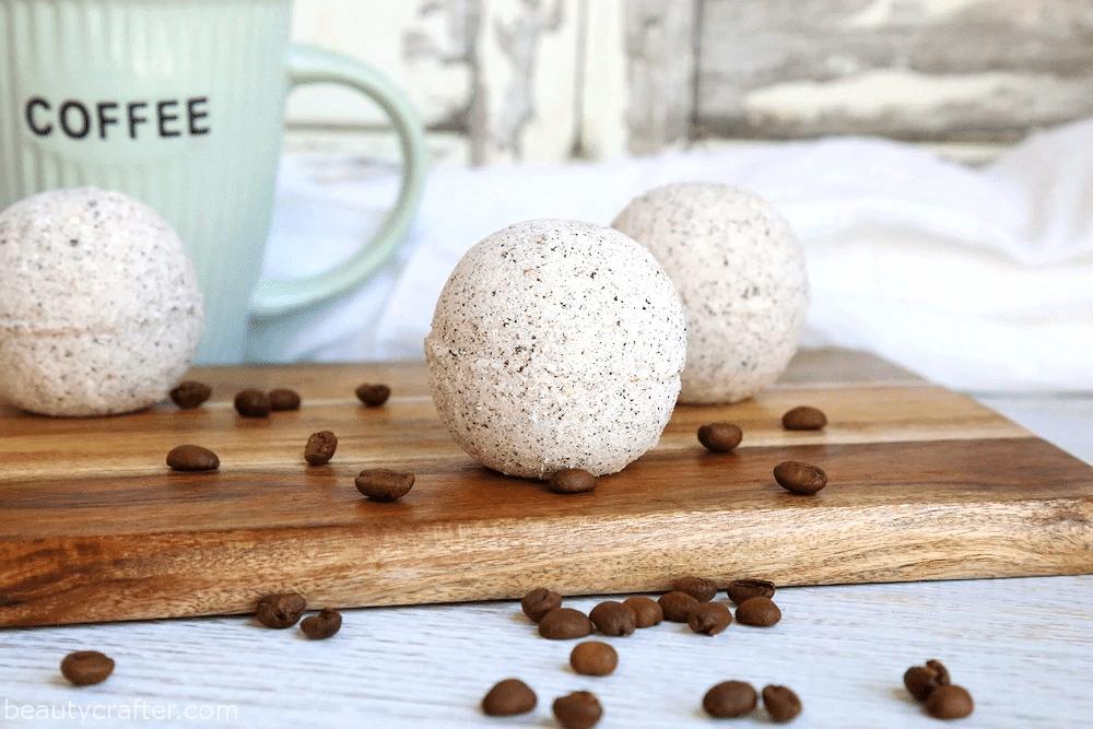 Coffee and Cream Bath Bombs