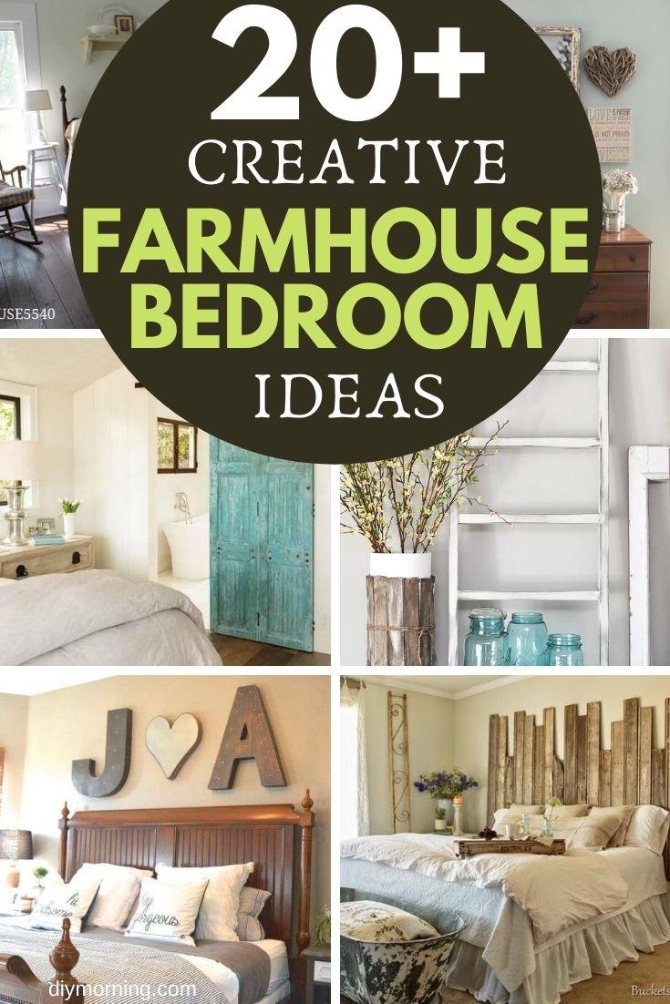 20 Creative Diy Farmhouse Bedroom Ideas Diy Morning
